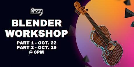 Blender Workshop tickets