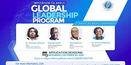 DLI Global Leadership Program 2022 Cohort Application tickets