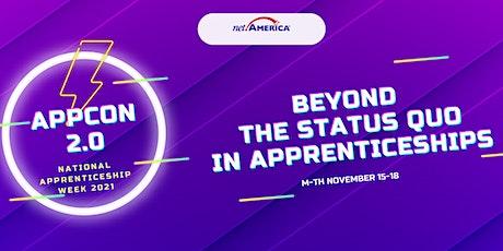 AppCon2.0: Beyond the Status Quo in Apprenticeships tickets