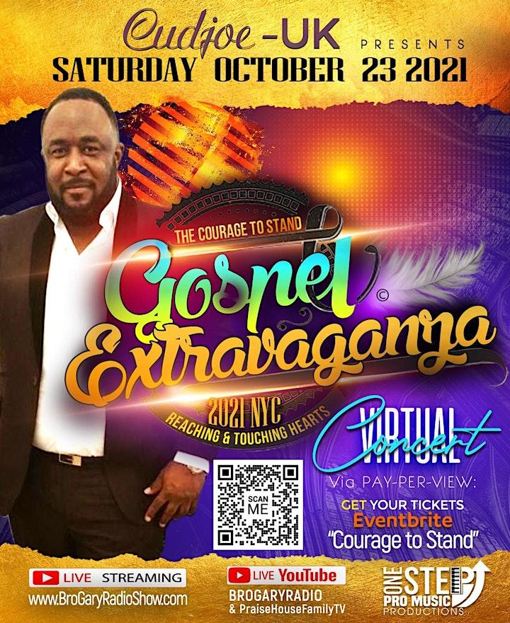 Courage To Stand Gospel Extravaganza 2021 image