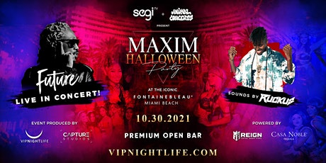 Maxim Halloween Party - Miami with FUTURE Live in Concert & DJ Ruckus tickets