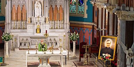 Saturday Mass: Inside Church - FULLY VAXXED tickets