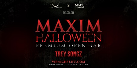 Maxim Halloween Party with Trey Songz | Los Angeles tickets