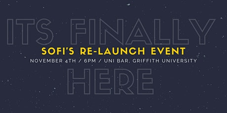 SOFI RE-LAUNCH EVENT tickets