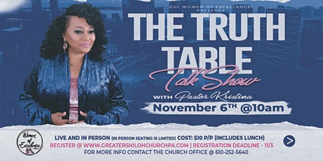 Truth Table Talk Show tickets