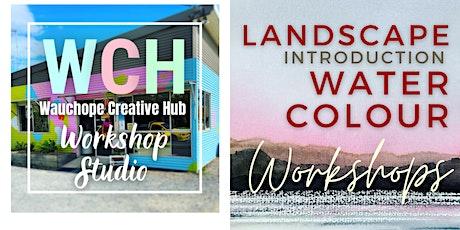 Landscape Watercolour Workshop: A 4 week course. Intermediate level tickets