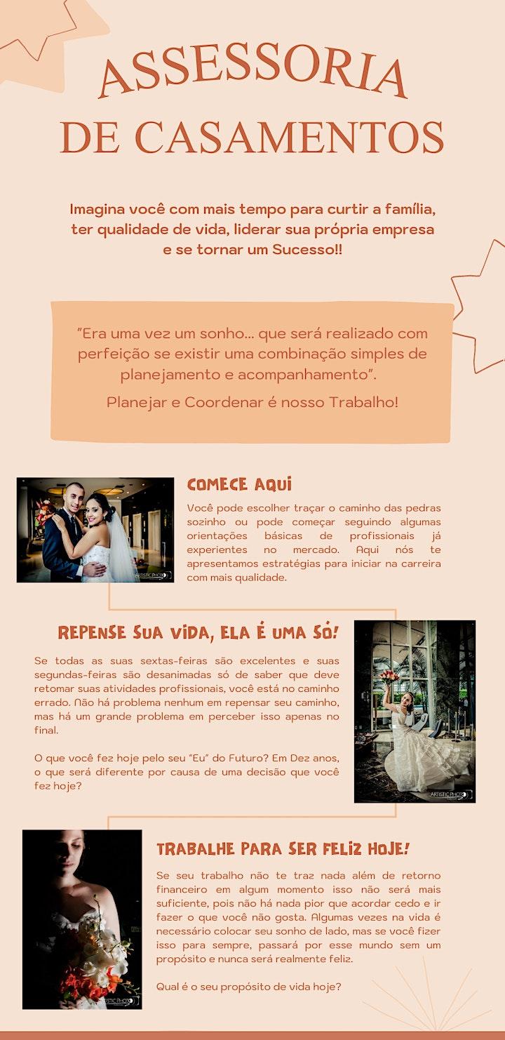 Imagem do evento Curso de Assessoria e Cerimonial de Casamentos Online/Presencial