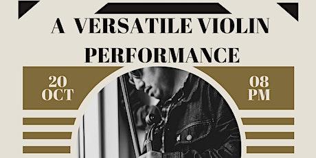 Gpazz Live Show & Dinner:  Featuring: Violin Player David Scott Binanay tickets