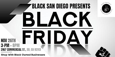 BLACK SAN DIEGO PRESENTS BLACK FRIDAY tickets