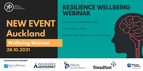 YIPs Auckland  - Wellbeing Webinar - Resilience tickets