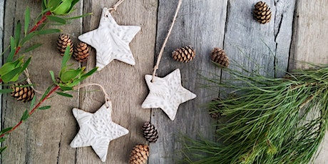 Make your own set of 4 Christmas Ornaments at the Campo de Flori Farm tickets
