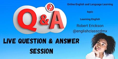 Free Online English Course biglietti