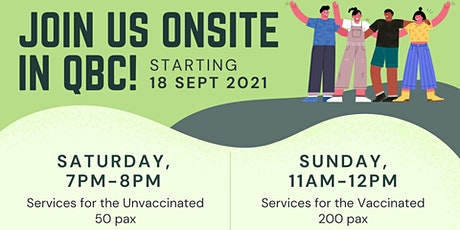 English Sunday Service (31 Oct) tickets