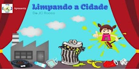 Apenas R$ 20,00! Espetáculo Limpando a Cidade no Teatro Ruth Escobar ingressos