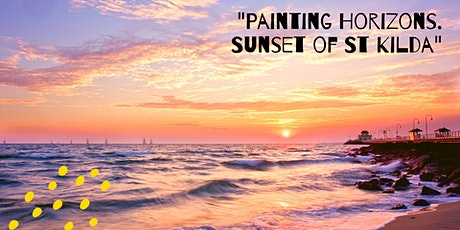 """Painting Horizons. Sunset of St Kilda""- Plain air workshop tickets"