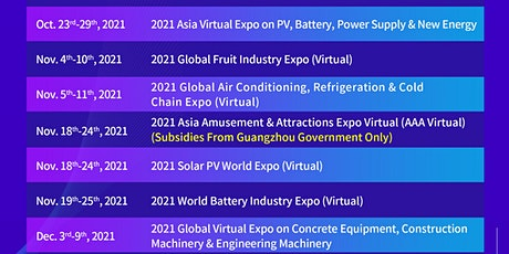 Online exhibitions about New Energy tickets