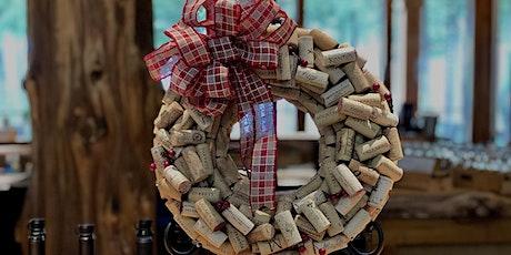 Wine Cork Wreath Workshop 11.2.20 tickets