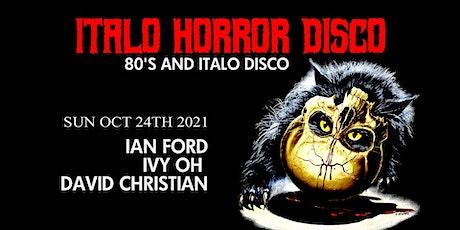 Italo Horror Disco - Day Event in Brooklyn NYC tickets