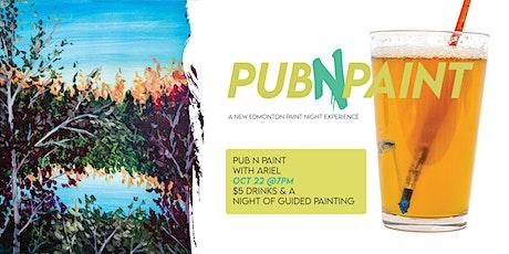 PubNPaint Oct 22 tickets