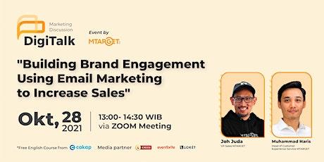 "MTARGET  Webinar  Vol. 23 ""Building Brand EngagementUsing Email Marketing t tickets"