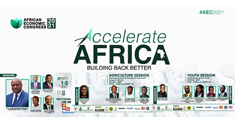 Accelerate Africa; Building Back Better  [A Pan-African Virtual Conference] tickets