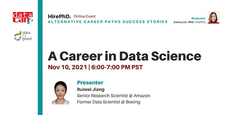 A Career in Data Science tickets