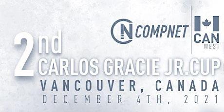 CompNet Carlos Gracie Jr 2ND CUP - Entry Ticket tickets