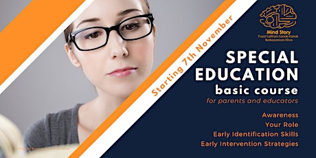 Special Education Basic Course Session 1: Awareness tickets