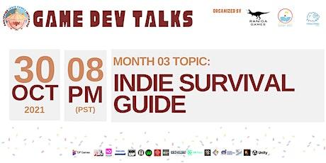 GameDev Talks III: Indie Survival Guide tickets