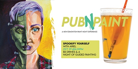 PubNPaint SPOOKIFY YOURSELF Oct 29 tickets
