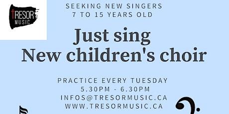 Just Sing Children's Choir tickets