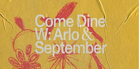 Arlo Communal X September Studios tickets