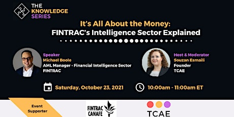 It's All About the Money: FINTRAC's Intelligence Sector Explained biglietti