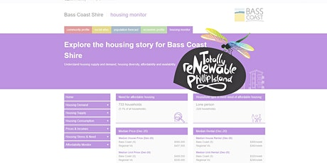 Bass Coast Big Build & Social and Affordable Housing Strategy tickets