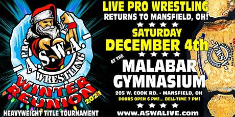 Live Pro Wrestling: ASWA Winter Reunion 2021! tickets