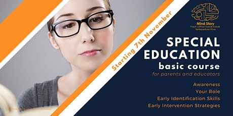 Special Education Basic Course Session 3: Early Identification tickets