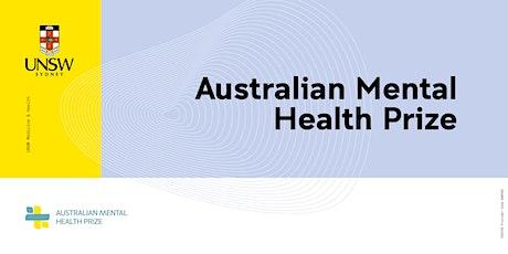 2021 Australian Mental Health Prize tickets