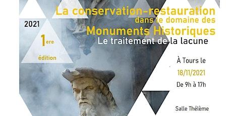 Séminaire Monuments Historiques : édition 2021 billets