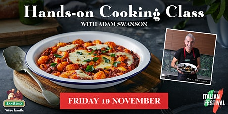 San Remo Italian Festival 'Hands-on Cooking Class' with Adam Swanson tickets