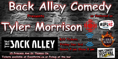 Tyler Morrison at Back Alley Comedy tickets