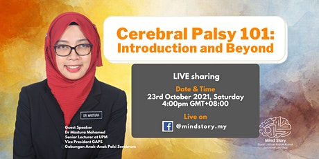 Cerebal Palsy 101: Introduction and Beyond tickets