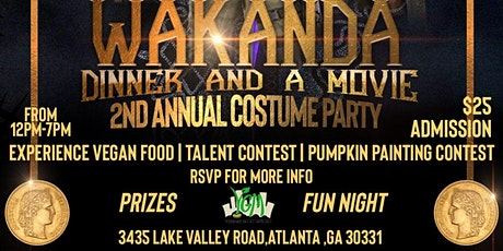2nd Annual Costume Party: Dinner And A Movie tickets