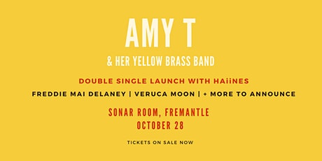 Amy T & Her Yellow Brass Band Single Launch @ Sonar Room tickets