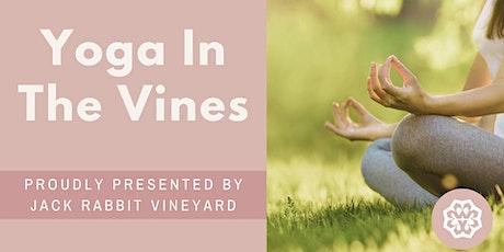 Yoga in the Vines @ Jack Rabbit Vineyard 18 December 2021 tickets