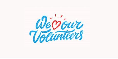 Volunteers Afternoon tickets