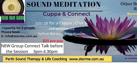 Sound Meditation Sound Healing tickets