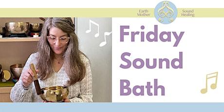 Online Sound Bath 22nd October tickets