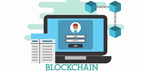 Master Blockchain, bitcoin in 4 weeks training course in Richmond tickets