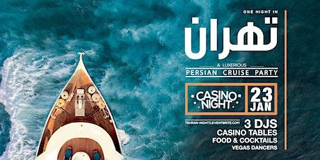 Tehran Nights | Luxury Cruise Party tickets