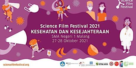Science Film Festival - 27 Oktober 2021 (Room 1 : X BHS, X MIPA 1 - 5) tickets